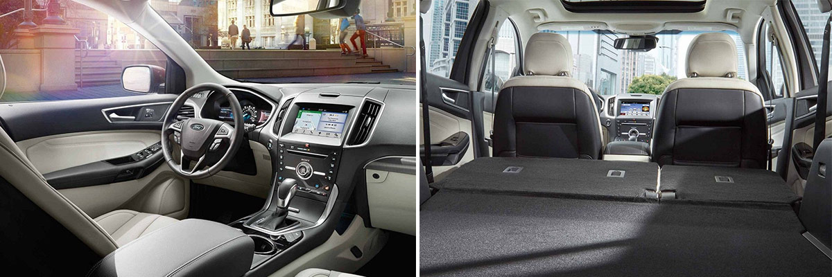 2018 Ford Edge Interior