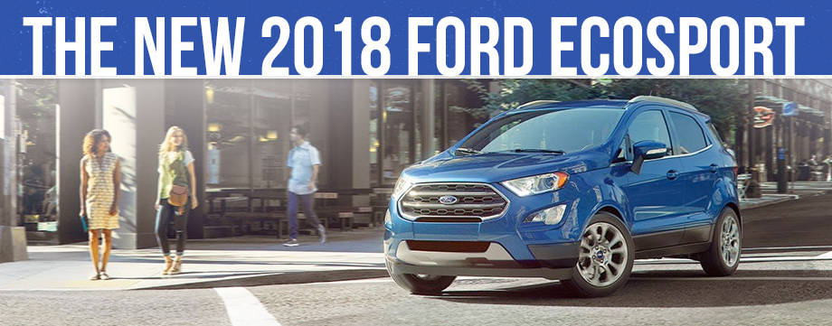 2018 ford ecosport in frankfort il all new ford for Currie motors frankfort service department
