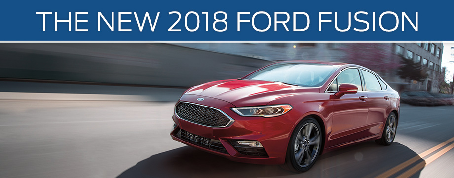 New 2018 Ford Fusion | Buy or Lease a New Ford near Mokena, IL