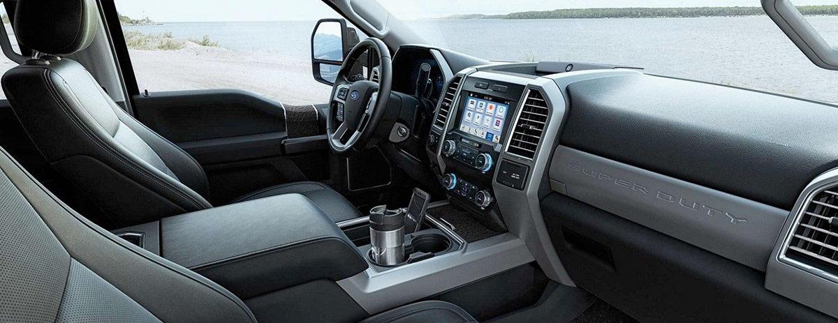 2019 Ford Super Duty Interior & Design
