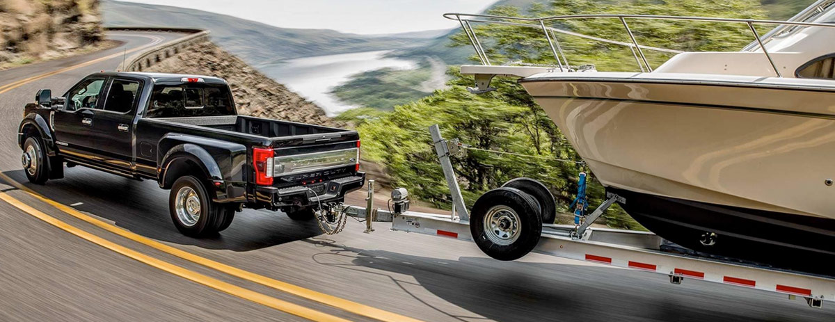 2019 Ford Super Duty Towing Capacity & Capabilities