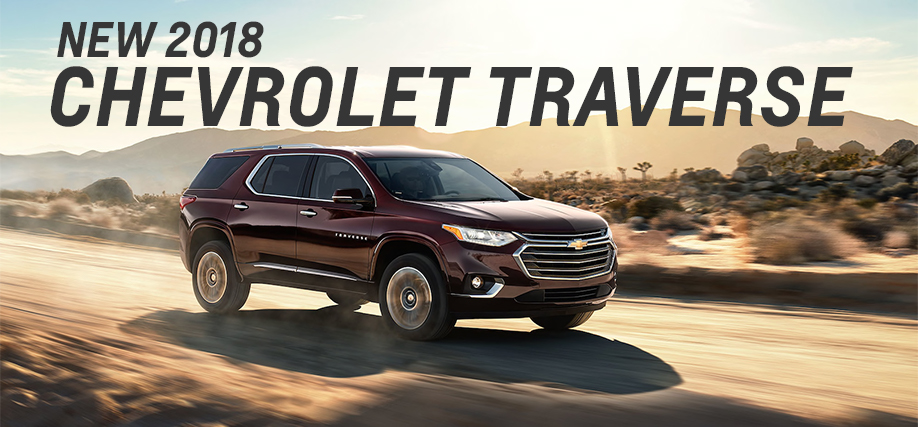 Buy A New 2018 Chevrolet Traverse Chevy Sales In Forest Park Il