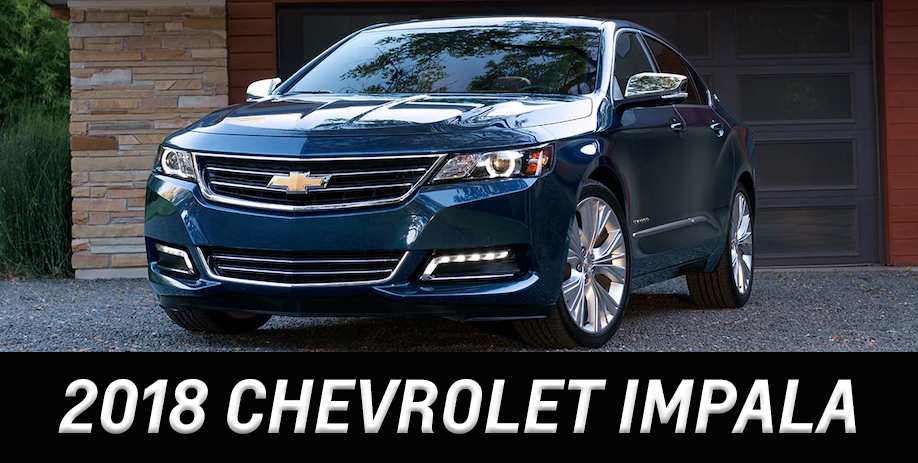 Buy A New 2018 Chevrolet Impala Chevy Dealer Near Chicago Il