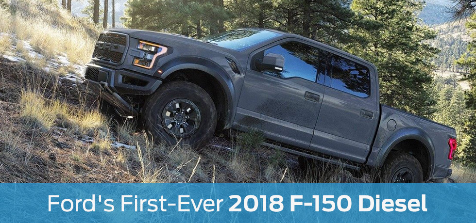 2018 Ford F-150 Diesel | Diesel Ford Pickup near New Lenox, IL